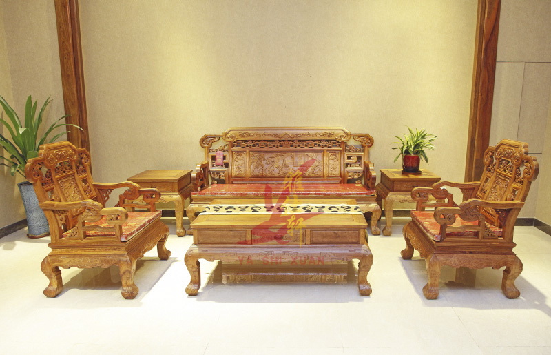 雅仕轩红木——吉祥宝座沙发